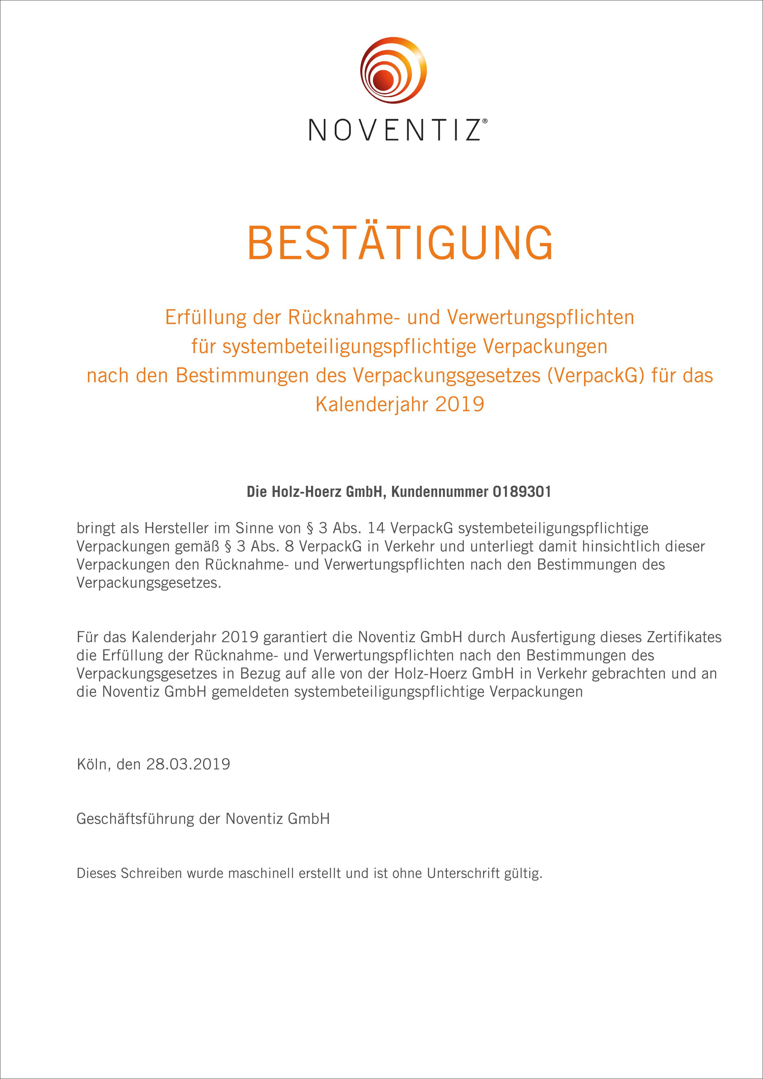 Bestaetigung-Verpackungsverordnung-Noventiz-2019